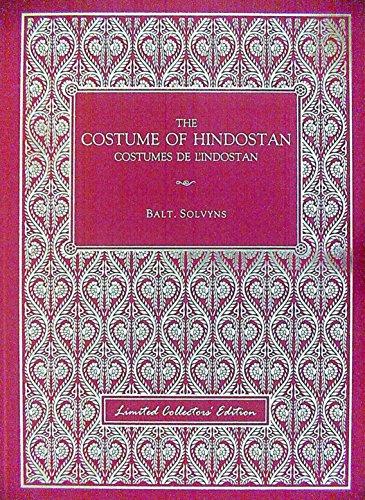 The Costume of Hindostan: Balt. Solvyns