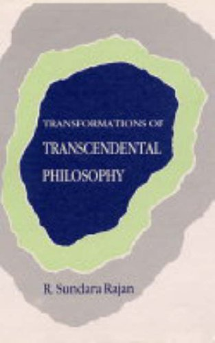 Transformation of Transcendental Philosophy: R. Sundara Rajan