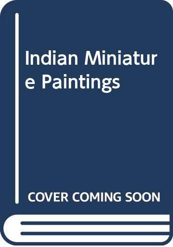 Indian Miniature Paintings: Mathur Asharani and