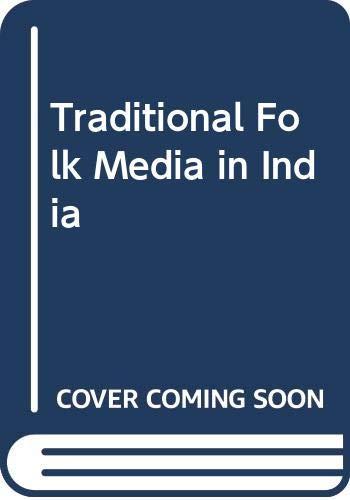 9788173140105: Traditional Folk Media in India