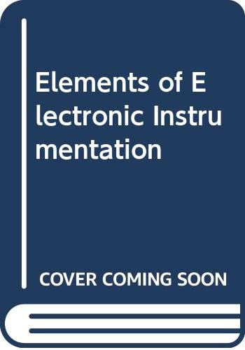 Elements of Electronic Instrumentation: Jha, J., etc.,