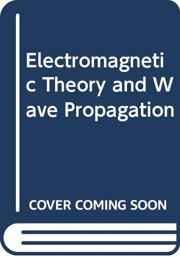 9788173191626: Electromagnetic Theory and Wave Propagation