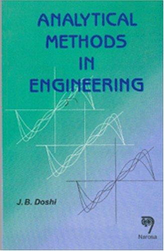 9788173191893: Analytical Methods in Engineering
