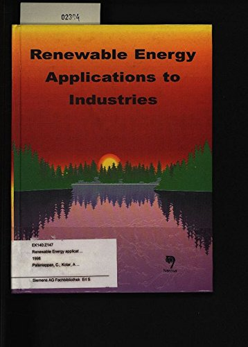 9788173192050: Renewable Energy Applications to Industries