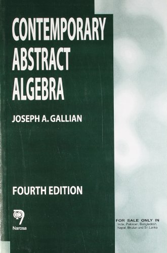 9788173192692: Contemporary Abstract Algebra, 4th Edition PB