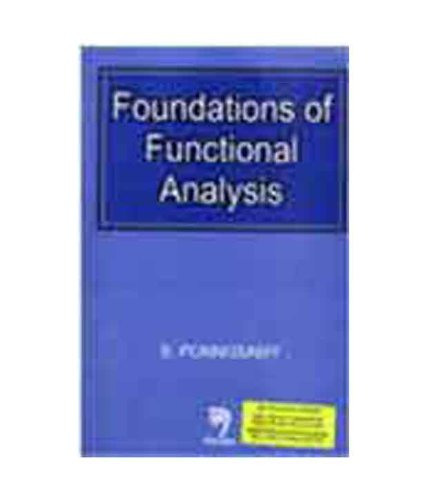 9788173194153: Foundations of Functional Analysis