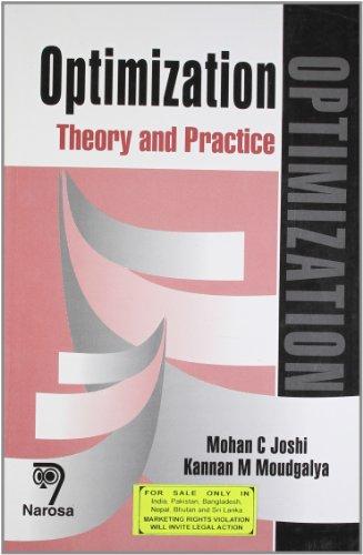 9788173194245: Optimization: Theory & Practice