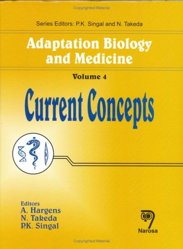 9788173195716: Adaptation Biology and Medicine, Vol. 4: Current Concepts