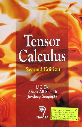 9788173198847: Tensor Calculus