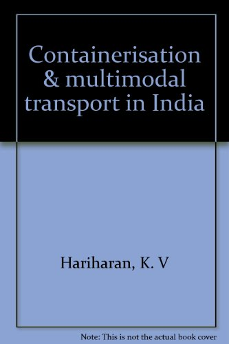 9788173660139: Containerisation & multimodal transport in India