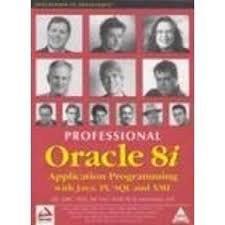 Professional Oracle 8i: Application Programming with Java,: Michael Awai, Matthew