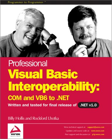 9788173661839: Professional Visual Basic Interoperability - COM and VB6 to .NET
