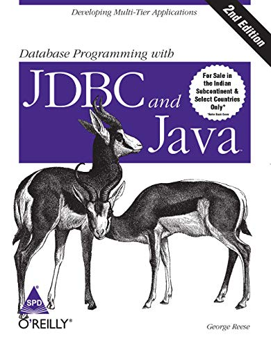 9788173662898: DATABASE PROGRAMMING WITH JDBC & JAVA,2E
