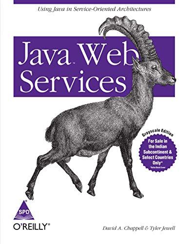 9788173663444: Java Web Services (English)