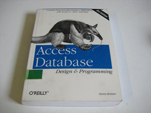 9788173664281: [(Access Database Design & Programming)] [by: Steven Roman]