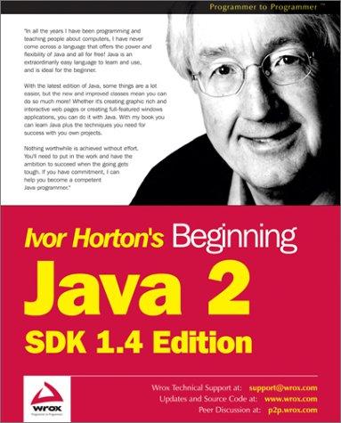 9788173665592: [(Beginning Java 2: SDK 1.4 Edition)] [by: Ivor Horton]