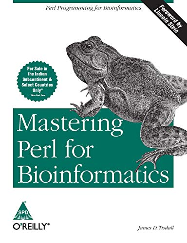 9788173666766: MASTERING PERL FOR BIOINFORMATICS