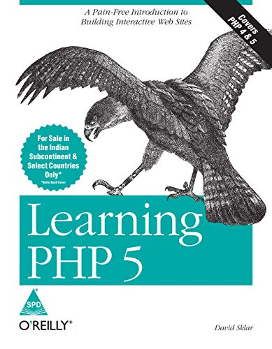 9788173667329: Learning PHP 5: A Pain-free Introduction to Building Interactive Web Sites