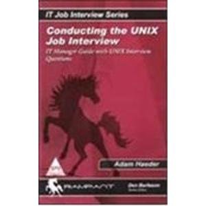 9788173669071: Conducting The Unix Job Interview
