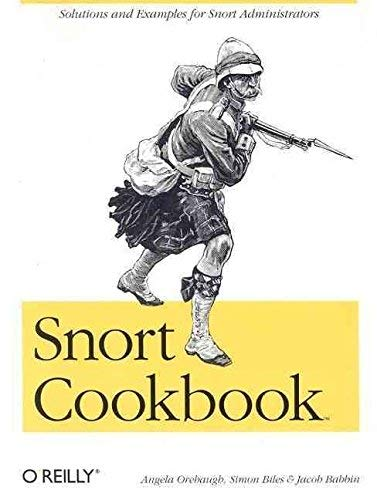 9788173669507: Snort Cookbook