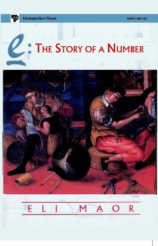 9788173712128: E, The Story of a Number