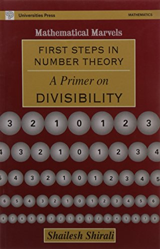 9788173713682: First Steps in Number Theory: A Primer on Divisibility (Mathematical marvels)