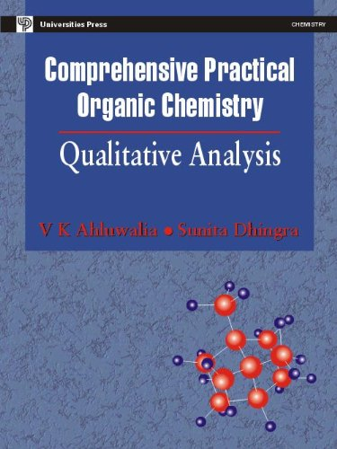 Comprehensive Practical Organic Chemistry Qualitative Analysis