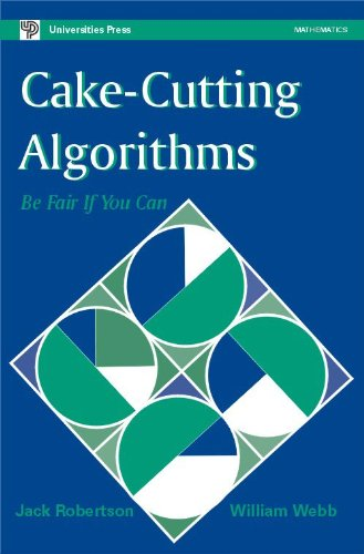 9788173714481: Cake Cutting Algorithms: Be Fair If You Can