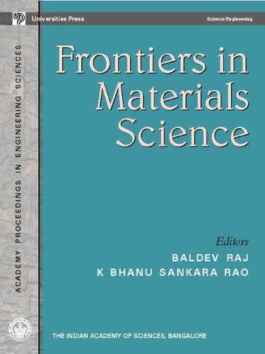 Frontiers in Materials Science: Baldev Raj,K Bhanu