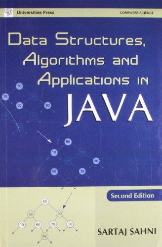 9788173715235: Data Structures, Algorithms, and Applications in JAVA