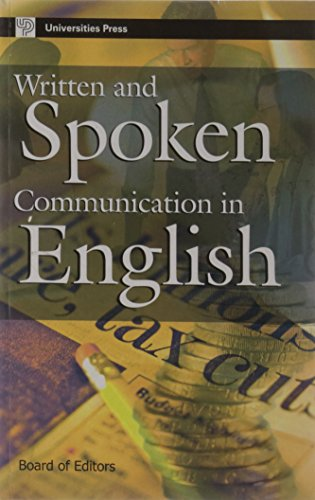 Written and Spoken Communication in English: Board of Editors