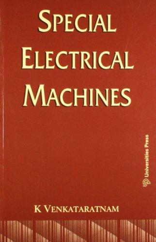 Special Electrical Machines: K V Ratnam