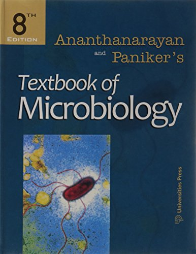 Textbook of Microbiology: R. Ananthanarayan and