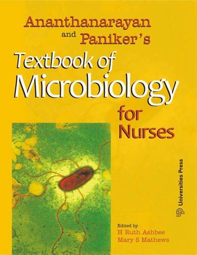 9788173717185: Ananthanarayan and Paniker's Textbook of Microbiology for Nurses