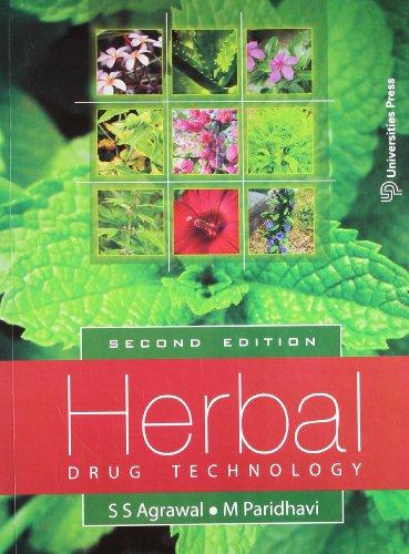 Herbal Drug Technology (2nd Edition): Agrawal,Paridhavi