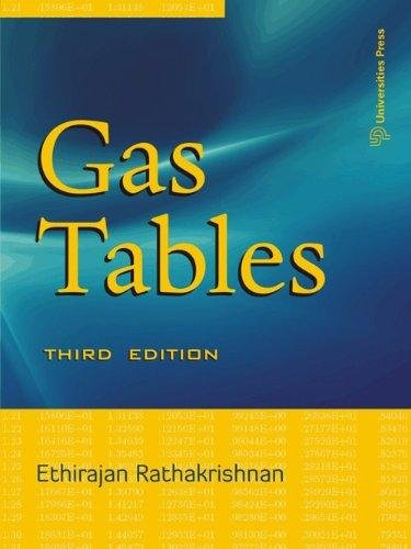Gas Tables (Third Edition): Ethirajan Rathakrishnan