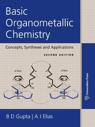 9788173718748: Basic Organometallic Chemistry: Concepts, Syntheses and Applications