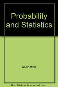 9788173813542: Probability and Statistics