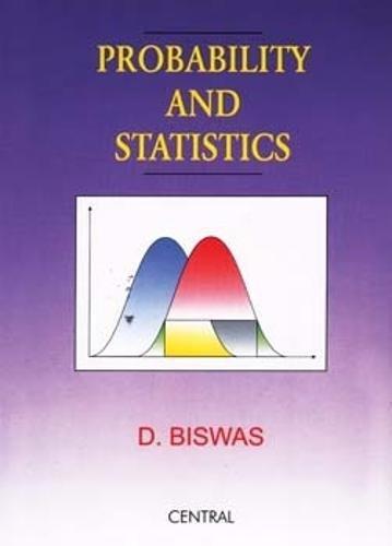 9788173814945: Probability and Statistics