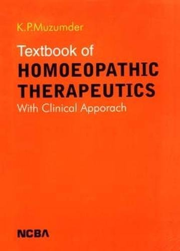 Textbook of Homoeopathic Therapeutics: Muzumdar K.P.