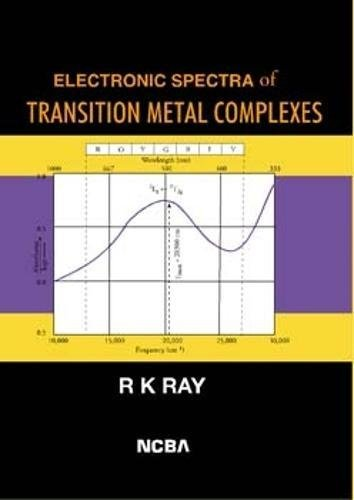 Electronic Spectra of Transition Metal Complexes: Ranajit Kumar Ray