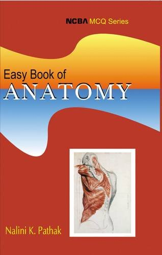 9788173815843: Easy Book of Anatomy (MCQ)