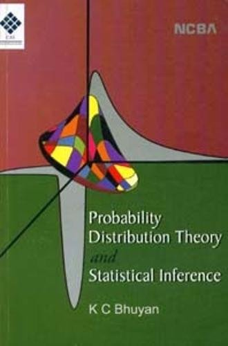 9788173816284: Probability Distribution Theory and Statistical Inference