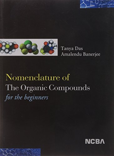 Nomenclature of the Organic Compounds for the: Amalendu Banerjee Tanya