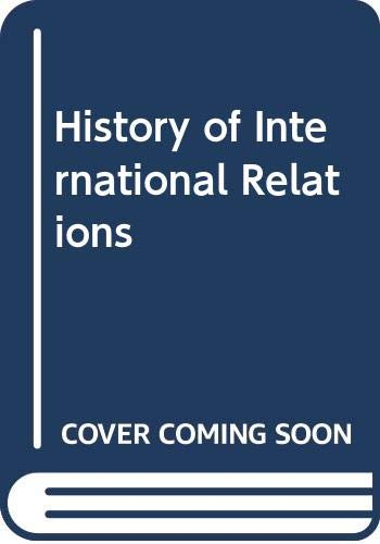 9788173819131: History of International Relations