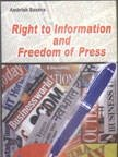 Right to Information and Freedom of Press: Saxena, Ambrish