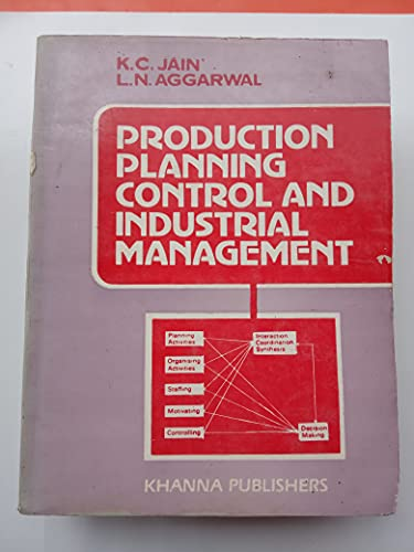 Production Planning Control and Industrial Management: K. C. Jain, L. N. Aggarwal