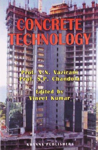 Concrete Technology: Prof. V.N. Vazirani