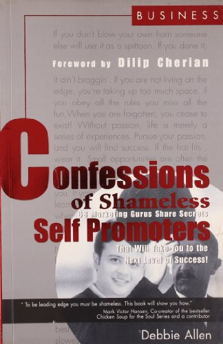 9788174362377: Confessions of Shameless Self Promoters