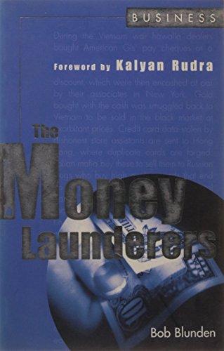 The Money Launderers: Bob Blunden (Author) & Kalyan Rudra (Frwd)